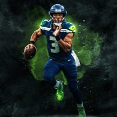 Russell Wilson, Seattle SeahawksYou can find Seattle seahawks and more on our website. Wilson Seahawks, Seahawks Gear, Seahawks Fans, Seahawks Football, Seattle Seahawks, Nfl Seattle, Football Players, Seahawks Merchandise, Seahawks Players