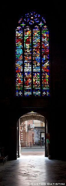 Eglise Saint Maurice, Lille, France by Batistini Gaston, via Flickr
