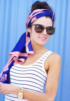 5 formas cancheras de ponerte un pañuelo en la cabeza   Fashion TV