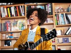 Lianne LaHavas NPR Music Tiny Desk Concert--My favorite new artist for 2016. Any music lover is going to love her voice.