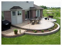 Along with decorative stamped concrete, we also offer artistic accent borders, custom stamped medallion artwork designs and flat work concrete. Description from ruggerocement.com. I searched for this on bing.com/images