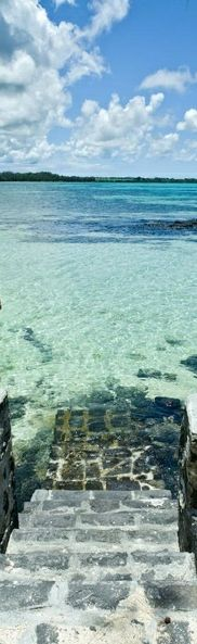 Morning swim... Mauritius - Indian Ocean http://www.habitatapartments.com/
