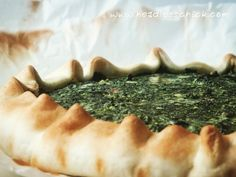 Spinach and Ricotta cheese Quiche