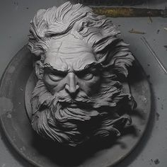 Newest Free of Charge Sculpture Clay realistic Concepts There are several kinds of clay courts useful for bronze sculpture, almost all various with regards to handli Zeus Statue, Pieta Statue, Poseidon Statue, Zeus Tattoo, Statue Tattoo, Sculpture Romaine, Greek Mythology Tattoos, Greek Statues, Ancient Greek Sculpture