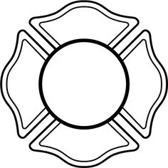 Fire Dept17  Fireman S Shield For Lettering Vinyl Decal  Customize On