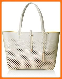 a7bde19c4ef9 Vince Camuto Leila Travel Tote, Snow White Pineapple, One Size - Shoulder  bags (