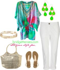 """Vacation Look #2"" by bridgetteraes on Polyvore"