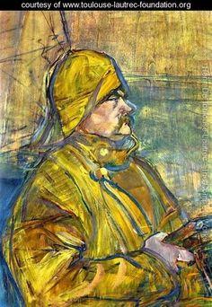 Maurice Joyans (detail) - Henri De Toulouse-Lautrec - www.toulouse-lautrec-foundation.org