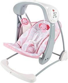 Fisher-Price Deluxe Take Along Swing and Seat, Pink/White  http://www.babystoreshop.com/fisher-price-deluxe-take-along-swing-and-seat-pinkwhite/