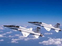 Northrop T-38 Talon - My hubby flew this plane.