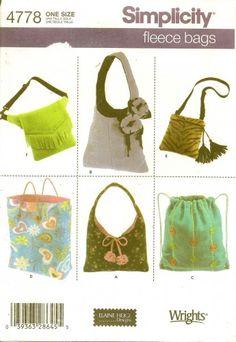 fleece purses