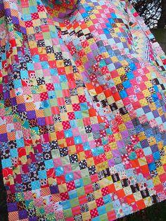 scrappy trips - quiltville  free pattern