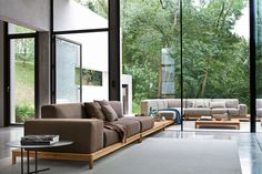 Barcode sofa, design Alessandro Dubini for Varaschin