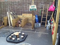 Outdoor building space - St. Thomas C of E Primary School