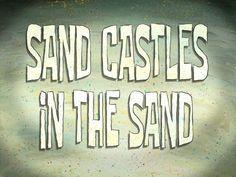 Bob Esponja episódio Castelo de areia na areia / Casca em choque   (Entre no http://wwwdesenhoeserie.blogspot.com.br/2015/05/bob-esponja-episodio-castelo-de-areia.html)
