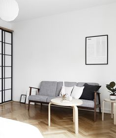 Mix of Japanese and Scandinavian style