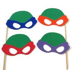 Teenage Mutant Ninja Turtles Set of 4 Photo Booth Props