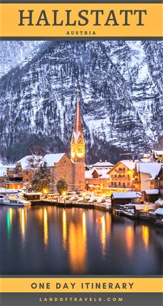 Best Things To Do In Hallstatt in 24 hours: A Complete First Timer's Travel Guide To This Hidden Gem Of Austria - via Land Of Travels #hallstatt #austria #europe #travel #travelguide #bestofaustria #bestofeurope #hallstattthingstodo #traveltips #onedayguide #itinerary #fairytaletowns #offthebeatenpath #couplestravel #familytravel #destinations #saltmine #lakehallstatt #Salzkammergut #hiddengemseurope #eurotrip #europetrip #europeanvacation #salzburgdaytrip #viennadaytrip #landoftravels