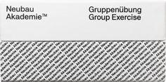 Neubau / Neubau Akademie™ / Group Exercise / Board Game / Packaging / 2016