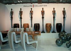 Part art gallery, part product display, this exhibit for The Phillips Collection is perfectly at home in an art museum and at the Boutique Design show.
