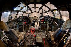 B-29 cockpit