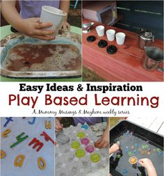 Welcome to my  weekly series of  play based learning posts. It is my aim to inspire, support and encourage both parents and educators to provide simple budget friendly play experiences for children...