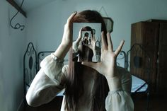 Creative portrait. 25 Stunning Reflection Photography examples and Tips for beginners
