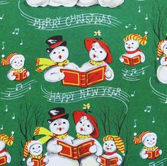 Vintage Christmas Gift Wrap  Wrapping Paper by MidCenturyAddiction, $4.25
