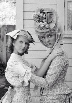 Nancy & Nellie from Little House on the Prairie