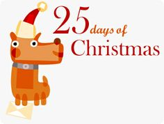 25 Day of Christmas... here we come!
