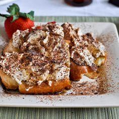 Tiramisu French Toast - polanerallfruit.com #breakfast #recipe #tiramisu