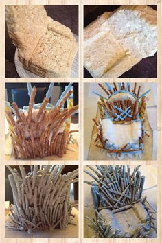 How to make à Game of Throne cake topper The Throne.