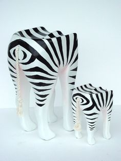 Pop Art Furniture | Pop Art Decoration - Furniture - Stools - Zebra Stool