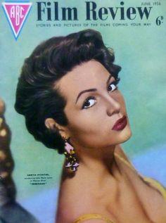 SARITA MONTIEL - ABC Film Review Magazine [United Kingdom] (June 1956)