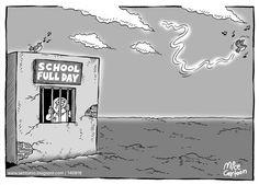 Mice Cartoon Kompas Minggu Edisi 14 Agustus 2016: Full Day School
