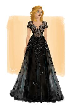 THE WORLD OF SARAH J. MAAS — tohuwabohus: Aelin wearing Zuhair Murad and...