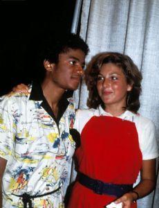 Michael Jackson and Tatum O'Neal