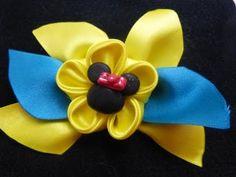 moños y flores en cinta para decorar accesorios para el cabello paso a paso. Manualidadeslahormiga - YouTube