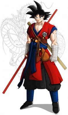 I think this is the most badass goku I have ever seen. Agree?