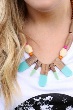 Tribal Necklace from Cents of Style - on sale this week on BrickyardBuffalo.com