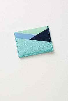 For the 2019 holiday season, make your most organized friends' and loved ones' tidy homes even neater with these affordable organizational gift ideas. Leather Wallet Pattern, Leather Card Wallet, Leather Book Covers, Business Card Case, Leather Projects, Leather Design, Leather Accessories, Leather Working, Wallets For Women