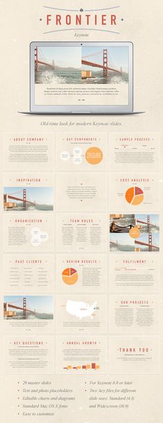 Frontier Keynote Template - #Keynote Templates Presentation #Templates Download here: https://graphicriver.net/item/frontier-keynote-template/6856829?ref=alena994