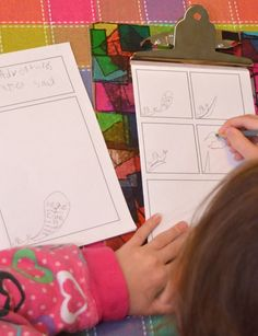 Free Printable Blank Comic Pages to foster art, creativity, language, storytelling skills, and more!