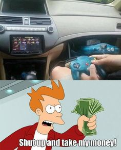 Shut up and take my money All Video Games, Things I Need To Buy, Memes, Best Funny Videos, Best Ads, Take My Money, Cool Technology, Cool Inventions, Shut Up