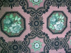 vintage wallpaper 1800 s   RESERVED FOR GREG Antique Victorian by catsinthecradlesoap on Etsy