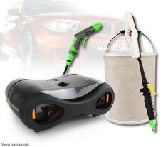 Shogun Portable Car Wash Kit with Pump