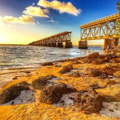 Bahia Honda Bridge, Florida Keys. Photo courtesy of eachapman4 on Instagram.