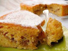 UNA SABROSÍSIMA TARTA DE MANZANA QUE TE ASEGURO SE CONVERTIRÁ EN UNA DE TUS FAVORITAS , TE LA RECOMIENDO SIN DUDA ALGUNA. - Modo Detox Apple Recipes, Gourmet Recipes, Sweet Recipes, Cake Recipes, Dessert Recipes, French Apple Cake, Banana French Toast, Spanish Desserts, Decadent Cakes