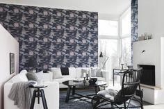 Boråstapeter mallisto Every Day, useita värivaihtoehtoja, Värisilmä. http://kauppa.varisilma.fi/seinanpaallysteet/nonwoven-tapetit/every-day/ #olohuone #tapetti