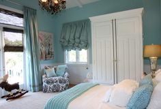 Inspiration Gallery | Windsor Smith Room A Perfect Blue Girls Room